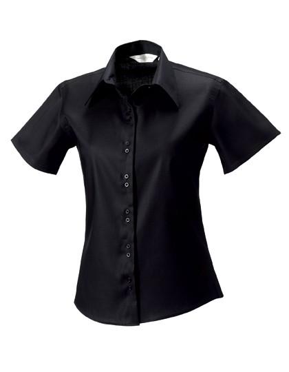 Ladies` Short Sleeve Tailored Ultimate Non-Iron Sh