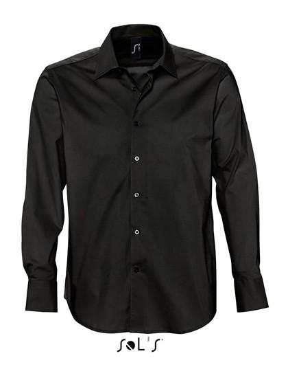 Men`s Stretch-Shirt Brighton Longsleeve
