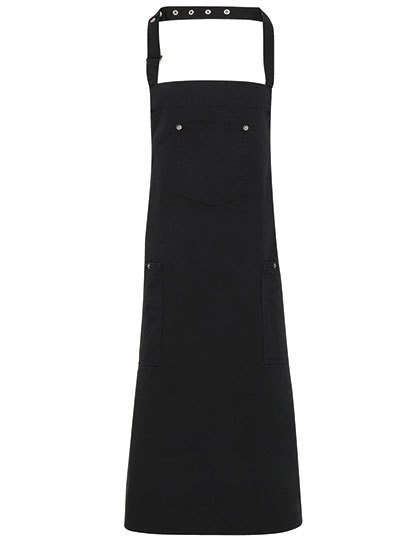 Cotton Chino Bib Apron