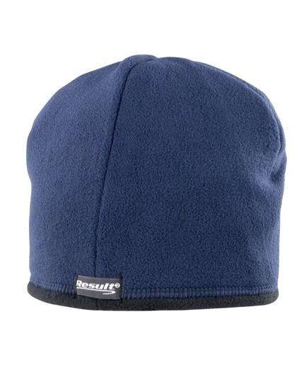 Reversible Microfleece Bob Hat