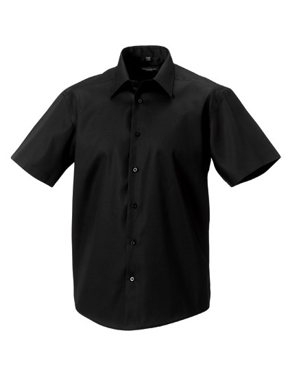 Men`s Short Sleeve Tailored Ultimate Non-Iron Shir