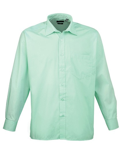 Poplin Long Sleeve Shirt (Herrenhemd/Langarm)