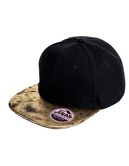 Bronx Flat Glitter Peak Snapback Cap