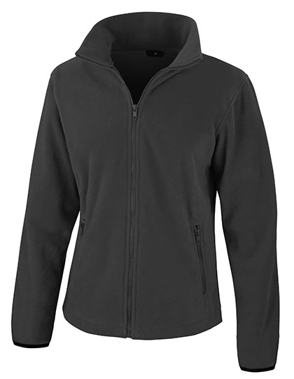 Ladies` Fashion Fit Outdoor Fleece Jacket