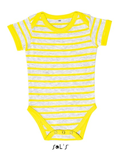 Baby Striped Bodysuit Miles